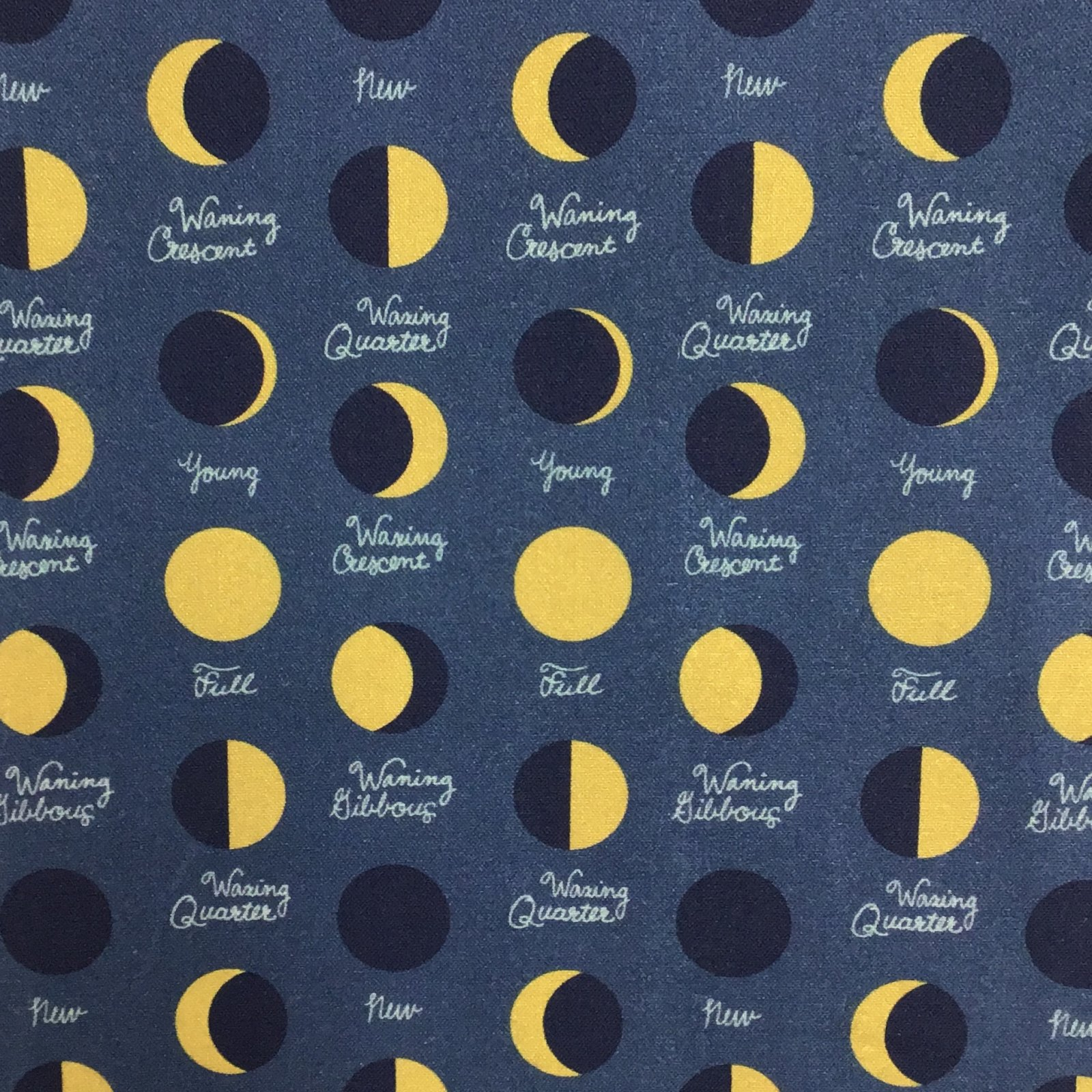 Moroccan Nights Lunar Phases in Midnight