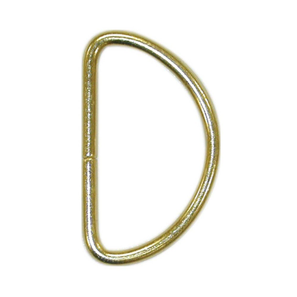 Pack of 2 30mm Gold Elan D-rings