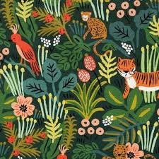 Menagerie Jungle by Rifle Paper Co for Cotton + Steel Canvas
