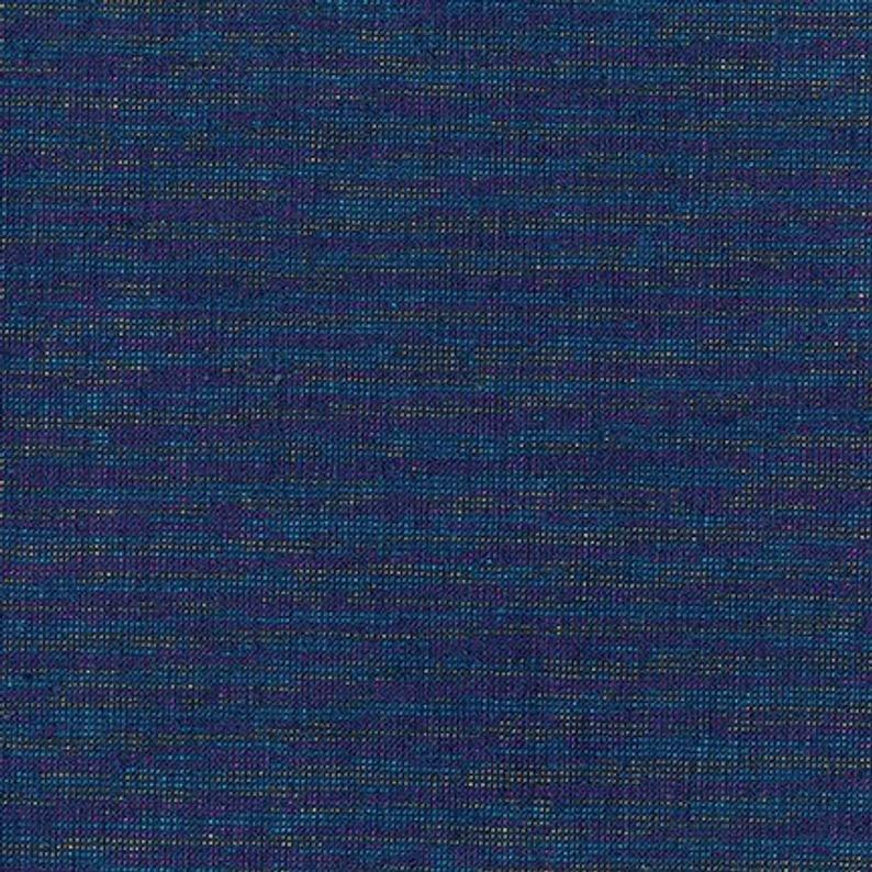 Navy Essex Yarn Dyed Metallic Linen Cotton