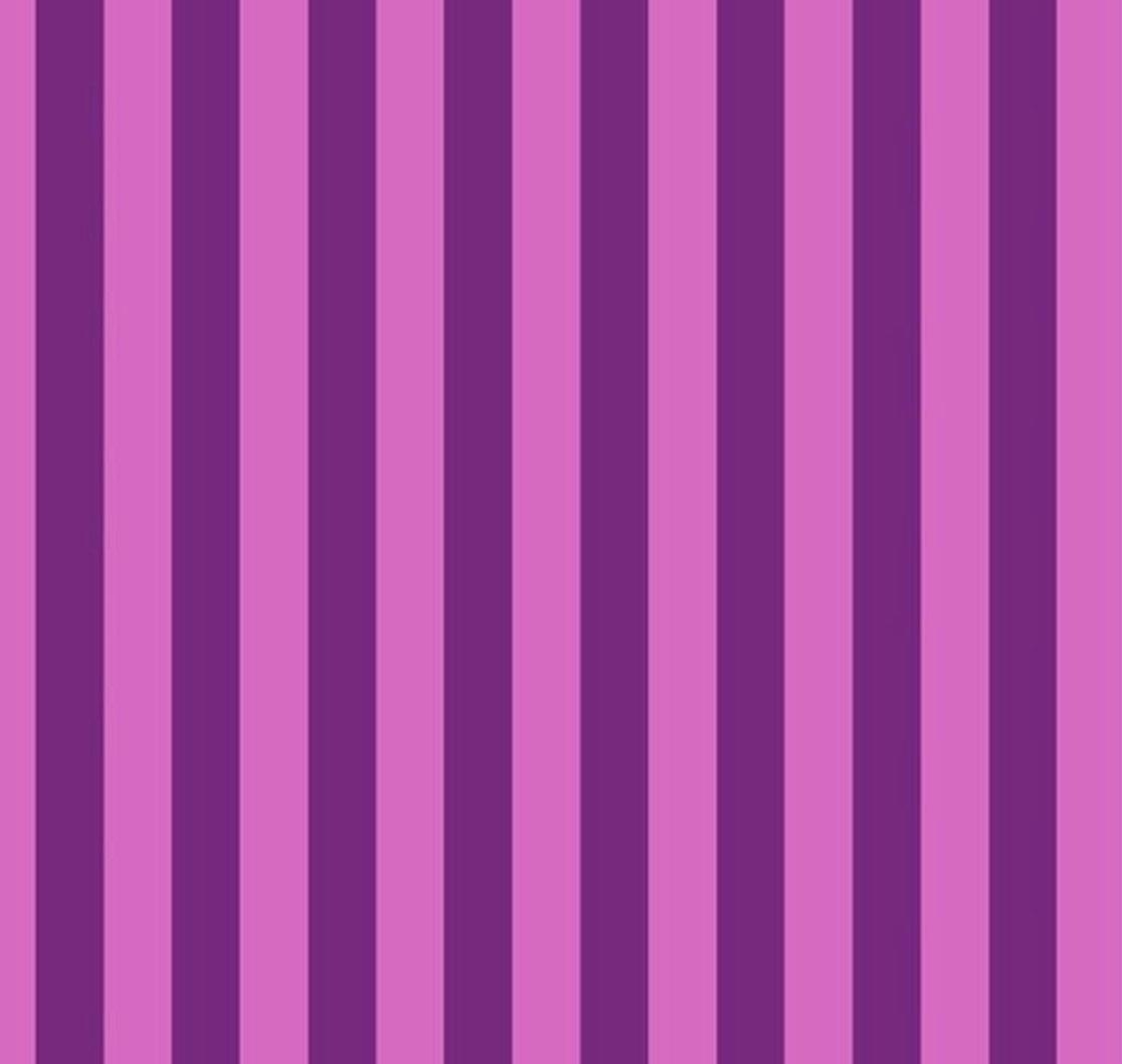 Tula Pink - ALL STARS - Tent Stripe - Foxglove