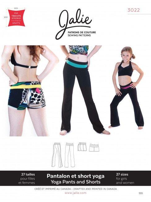 Jalie Pattern 3022 Yoga  Pants and Shorts
