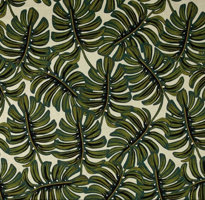 Monstera Natural Canvas by Rifle Paper Co for Cotton + Steel