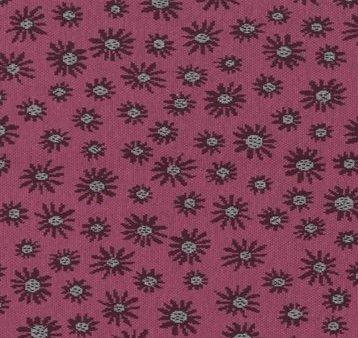 Avalana Jacquard Organic Knit- Rose Flowers