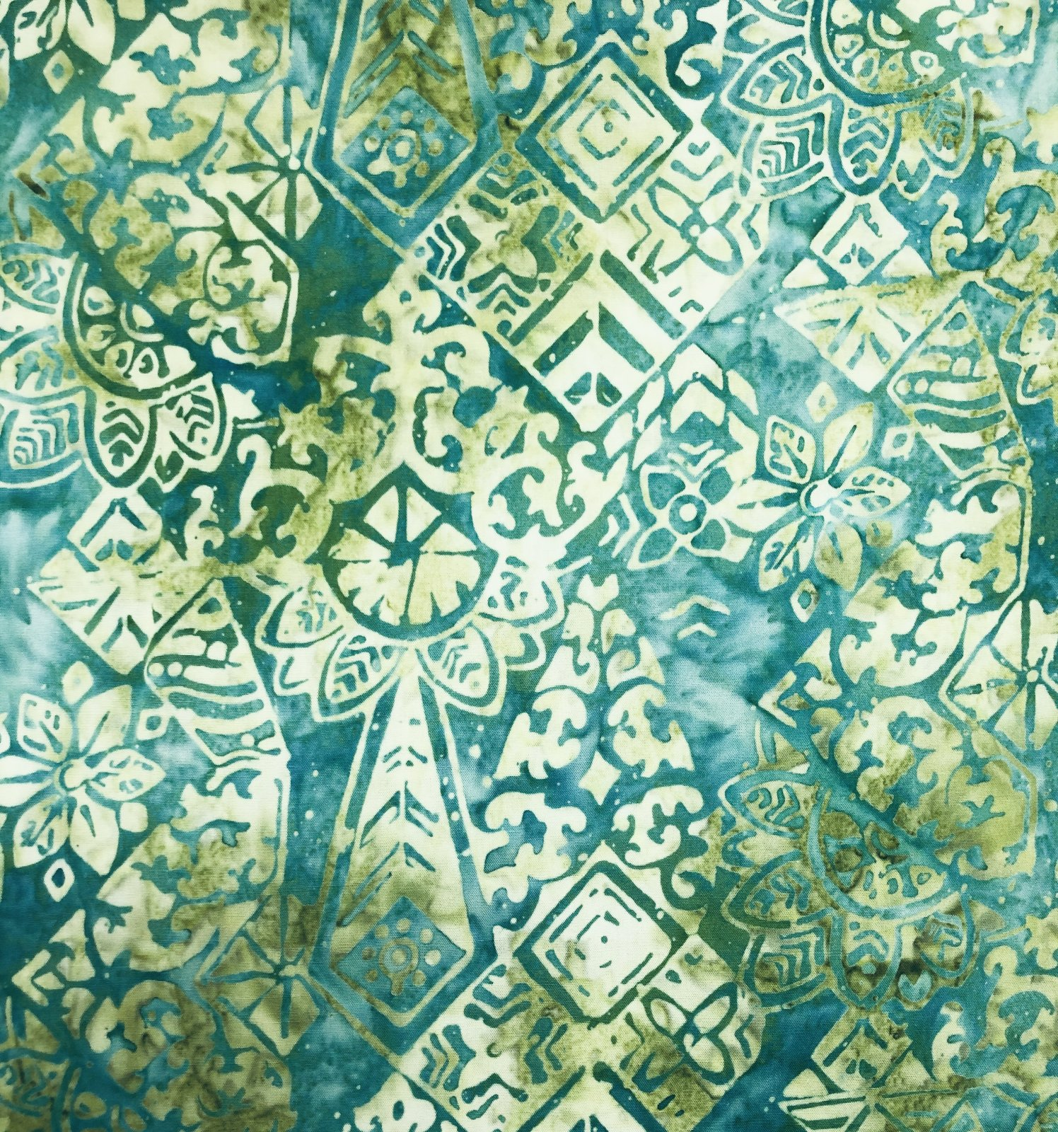 Anthology Rayon Batik Green
