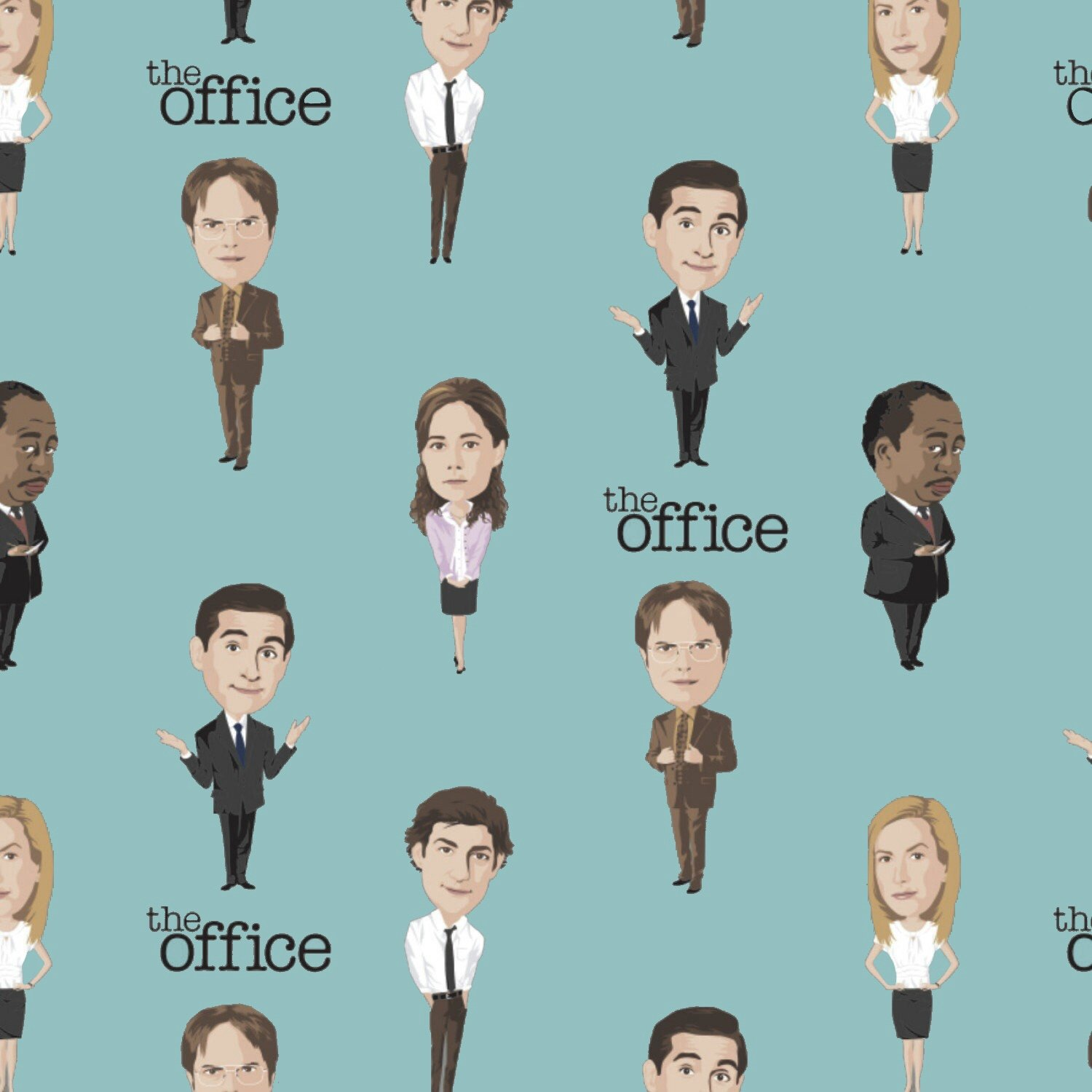 Camelot The Office - Staff Lineup in Teal