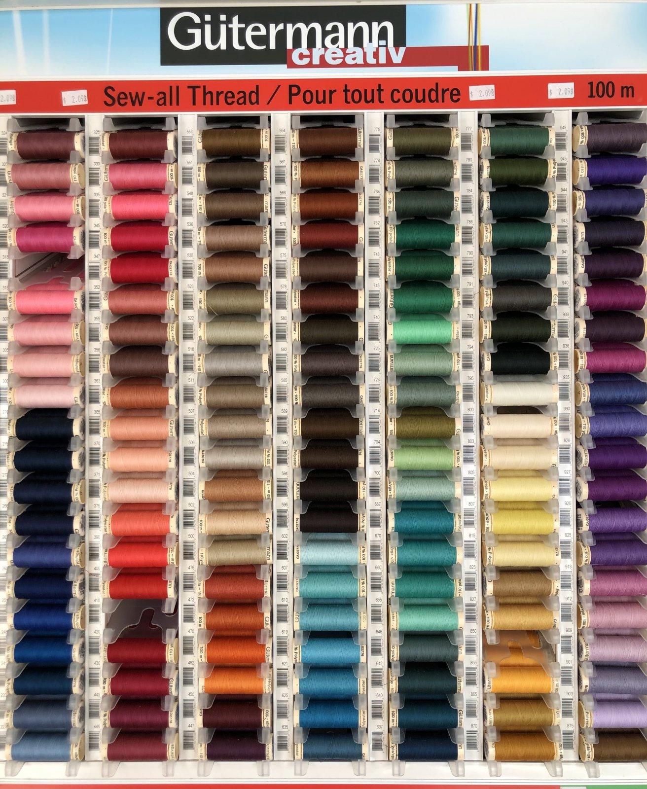 Matching Thread: Sew Local's Choice