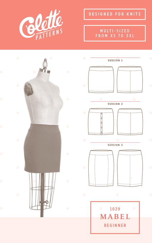 Colette Pattern Mabel Skirt