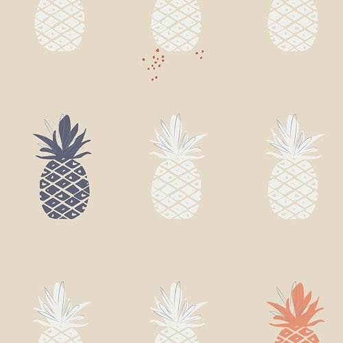 Art Gallery Fabrics Ananas Canvas