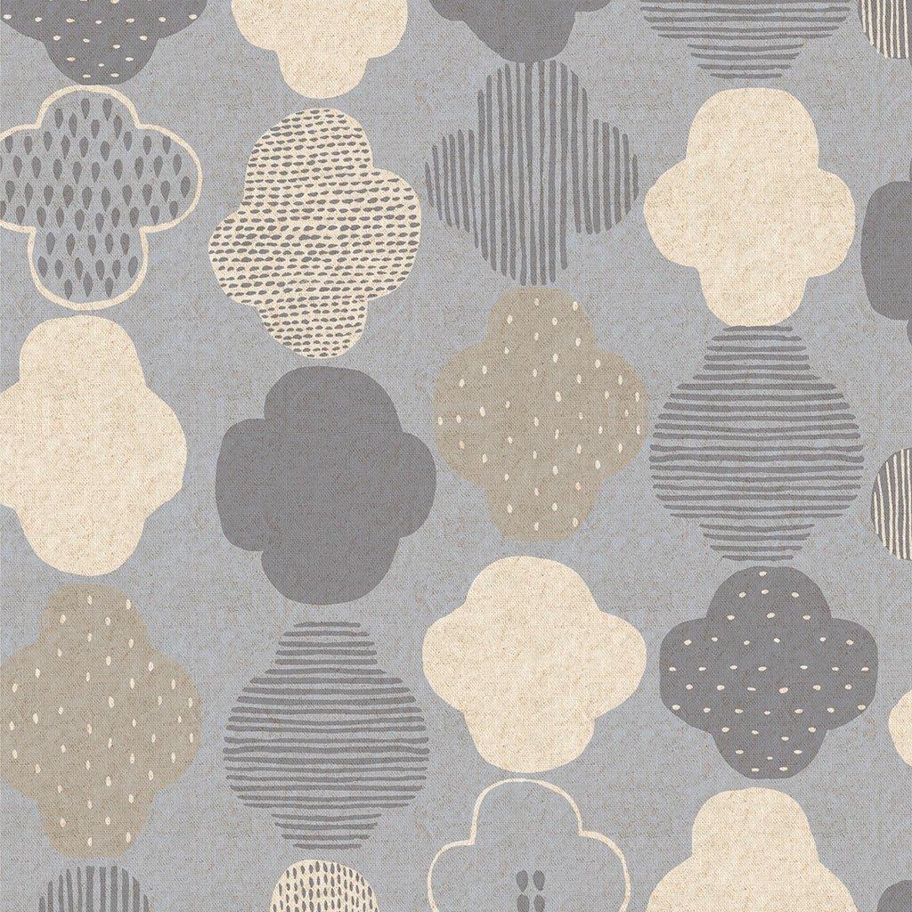 Cotton + Steel Mori No Tomodachi - Kumo Canvas in Grey