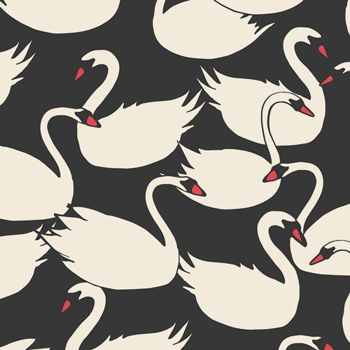 Art Gallery Fabrics Swanlings Bevy Nightfall