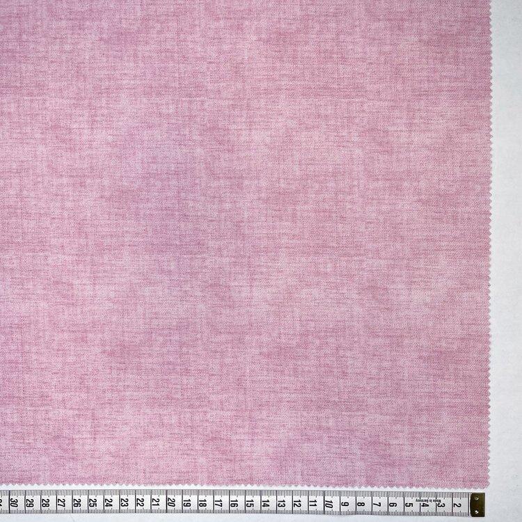 John Louden Faux Linen Texture in Pink