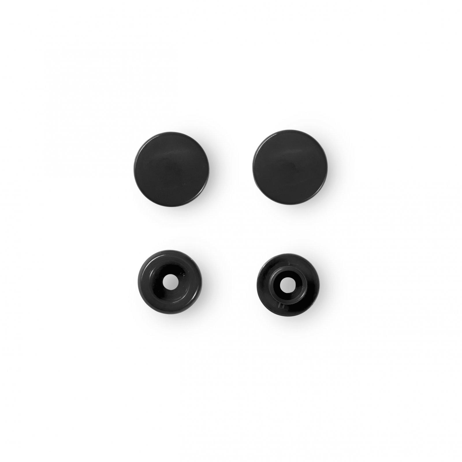 Prym Colour Snaps in Black - 12.4mm (30 Sets)