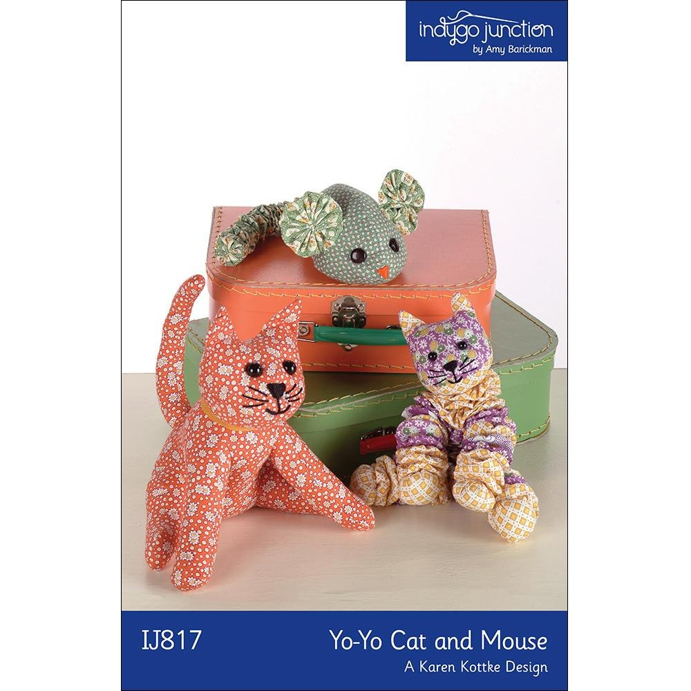 Indygo Junction Yo-Yo Cat and Mouse Pattern