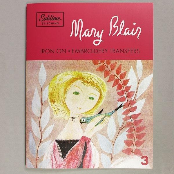 Sublime Stitching MARY BLAIR Iron on Embroidery Transfers Portfolio