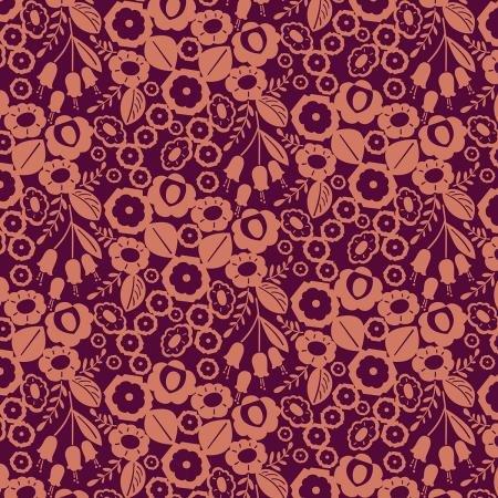 Cotton + Steel Emilia - Adele Cotton/Linen Canvas in Burnt Orange
