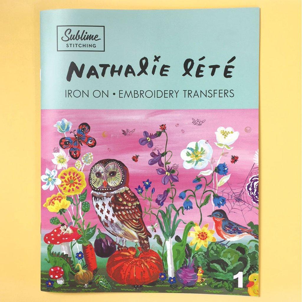 Sublime Stitching NATHALIE LETE Iron on Embroidery Transfers Portfolio