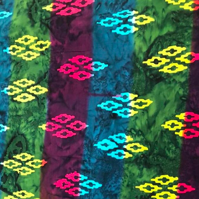 Rainbow Celestial Batik