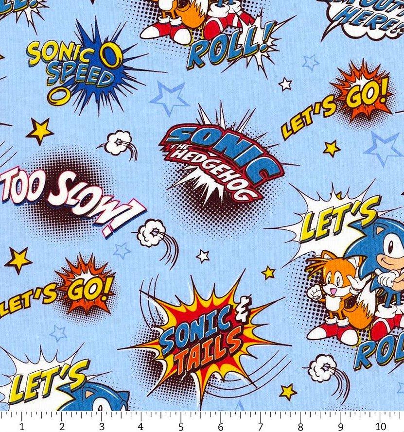 Robert Kaufman Sega Sonic the Hedgehog Comic in Blue