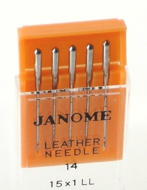 990614000 Leather Needles #14 5/pk