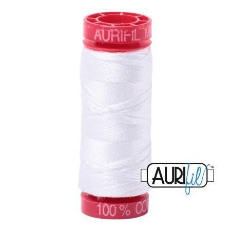 Aurifil Cotton 12wt 54yds White