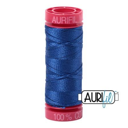 Aurifil Cotton 12wt 54yds Medium Blue