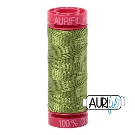 Aurifil Cotton 12wt 54yds Fern Green