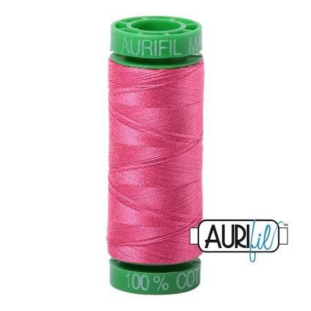 Aurifil Mako Cotton Embroidery Thread 28wt 100yd Blossom Pink