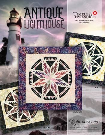 Antique Lighthouse by Quiltworx