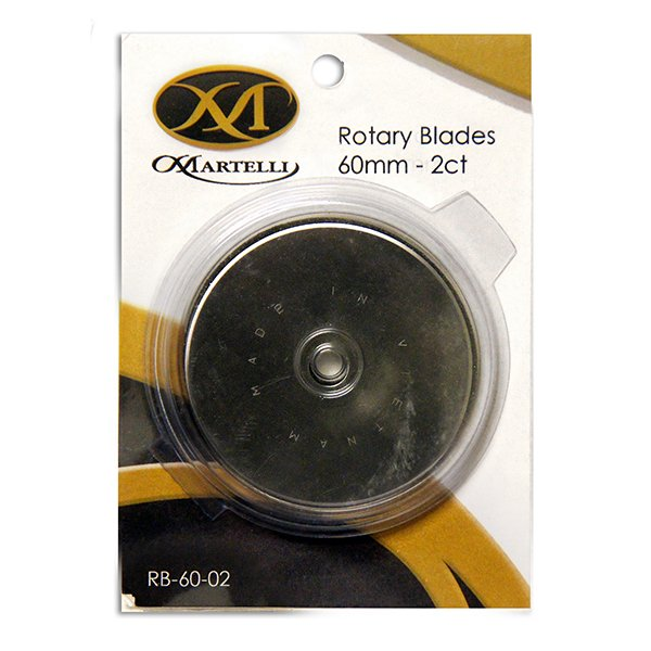 60mm Replacement Blades 2/pk