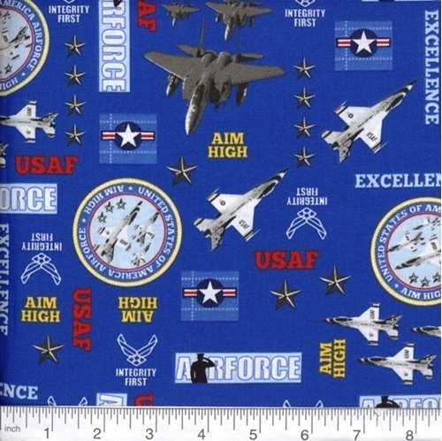 Military Collection - Air Force - Pattern 09
