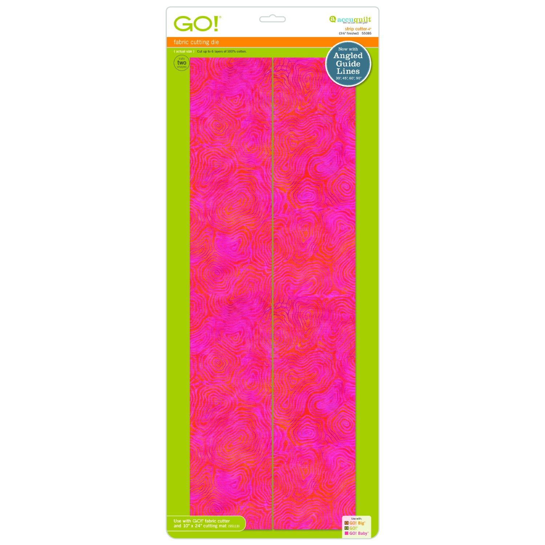 AccuQuilt GO! Strip Cutter 4 (3 1/2 Finished) Die - 55085