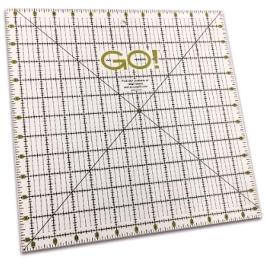Accuquilt GO! Quilting Ruler 12 1/2 x 12 1/2 - 55475