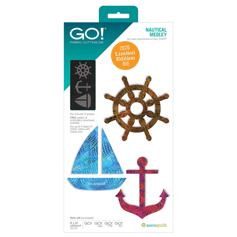 GO! Nautical Medley Die - 55497