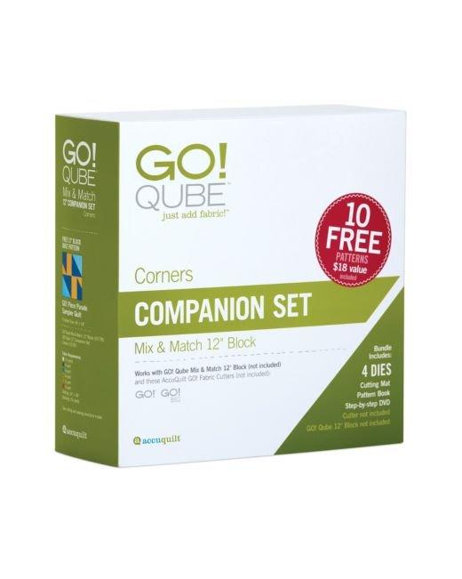 AccuQuilt GO! Qube 12 Companion Set - Corners - 55787
