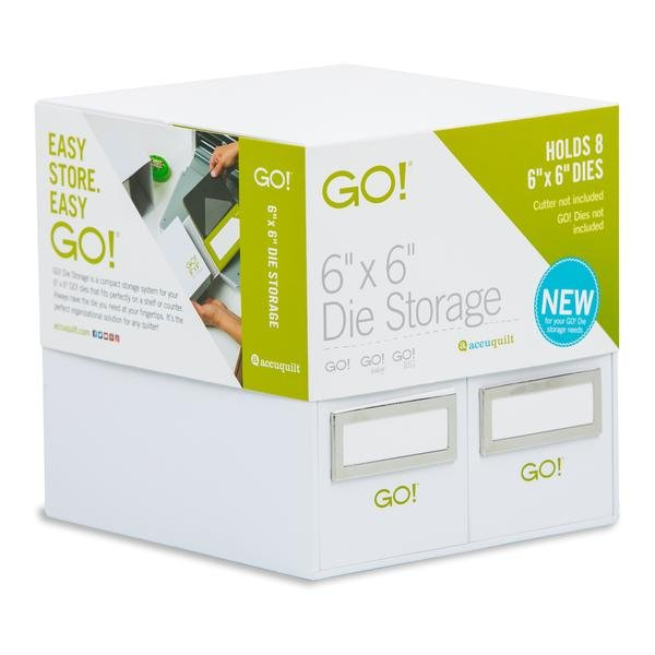 Accuquilt GO! 6 x 6 Die Storage - 55850