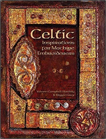 Celtic Inspirations for Machine Embroiderers Book - QR22776