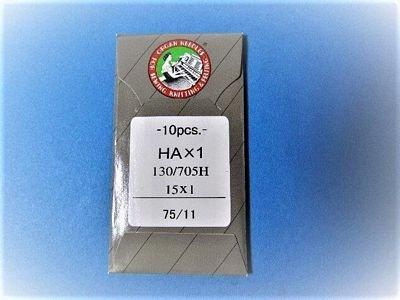 Organ Flat Shank 15x1 Regular/Universal Needle Size75/11 10pk - 6819-11