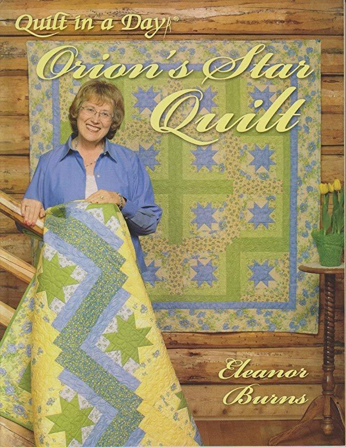 Orion's Star Quilt Book - QD0814
