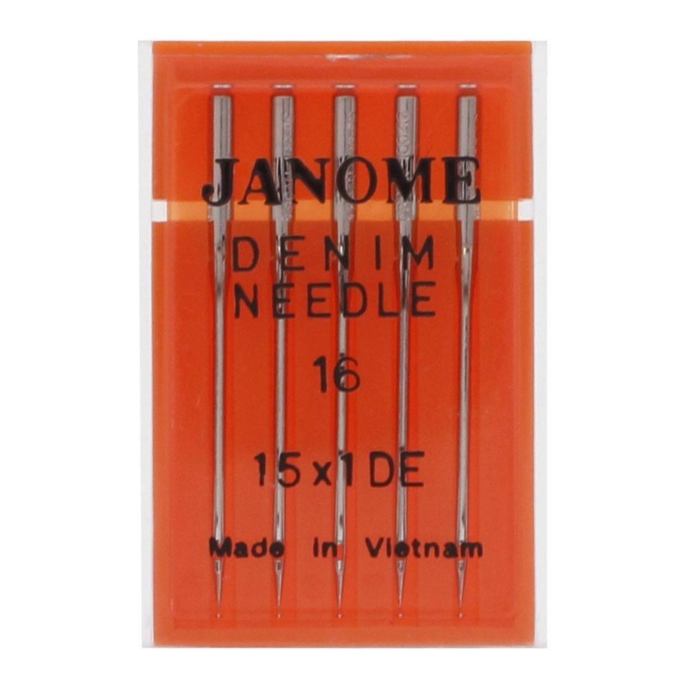 Janome Denim Needles #16 5pk - 990416000