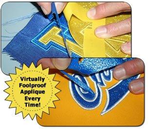 Appli-Stitch Velvet Fabric 6.75x12 assorted colors - R-V42