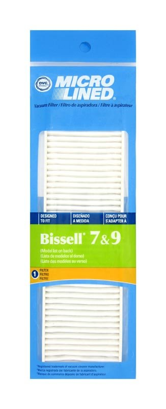 Bissell HEPA 7 & 9 exhaust filter to fit Cleanview II model vacuums