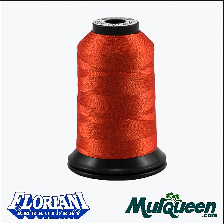 Floriani Polyester Embroidery Thread, -1000m/1100yds - Copper #PF0186