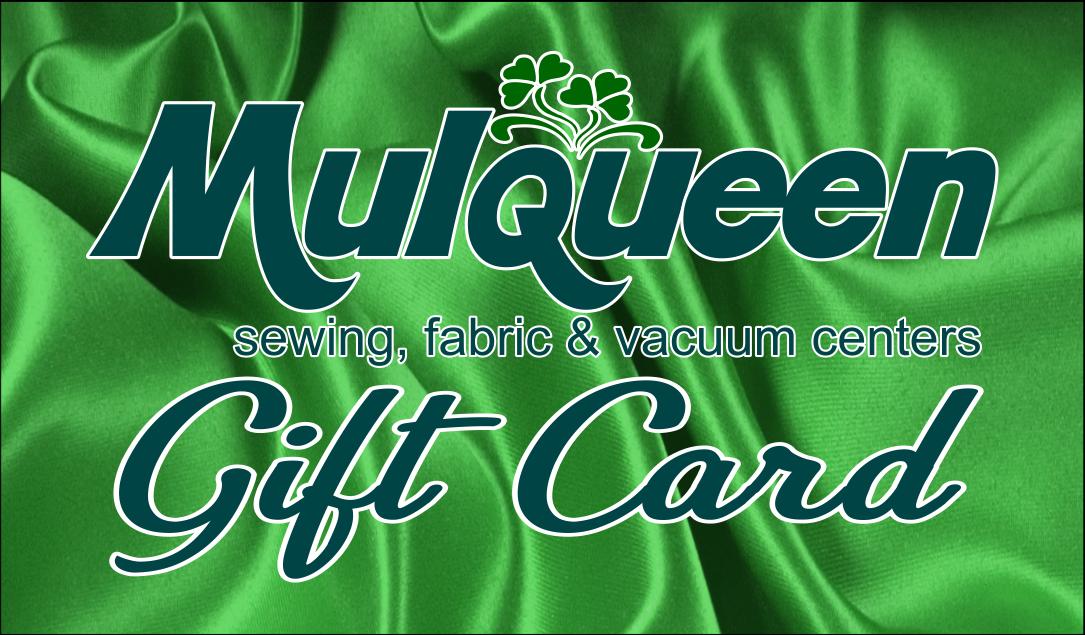 Mulqueen Gift Card $25.00