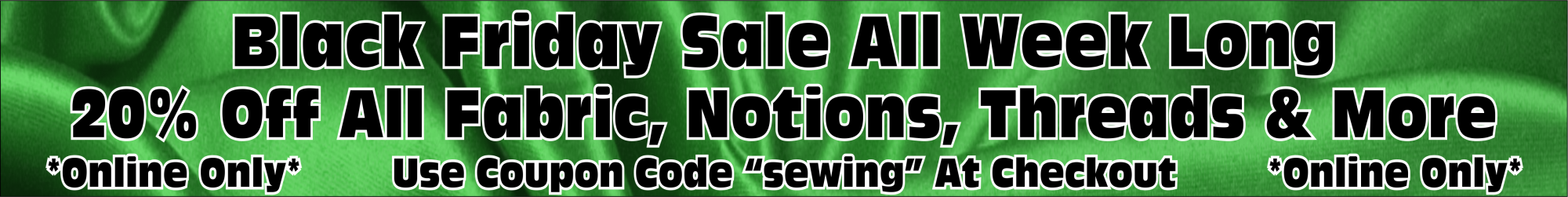 Quilting Fabric Sale