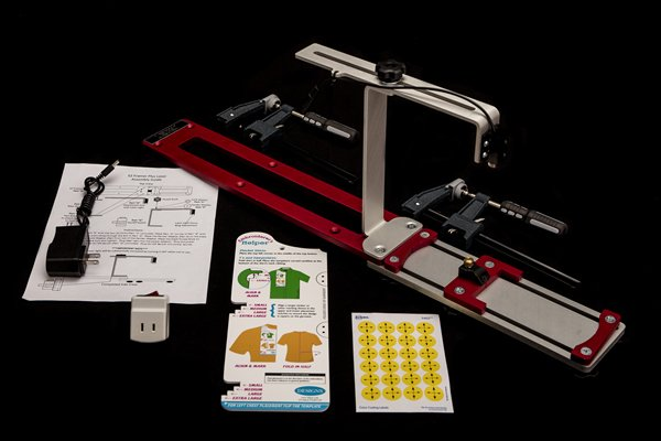 Durkee EZ Framer Plus Framing Device with Cross Hair Laser Light