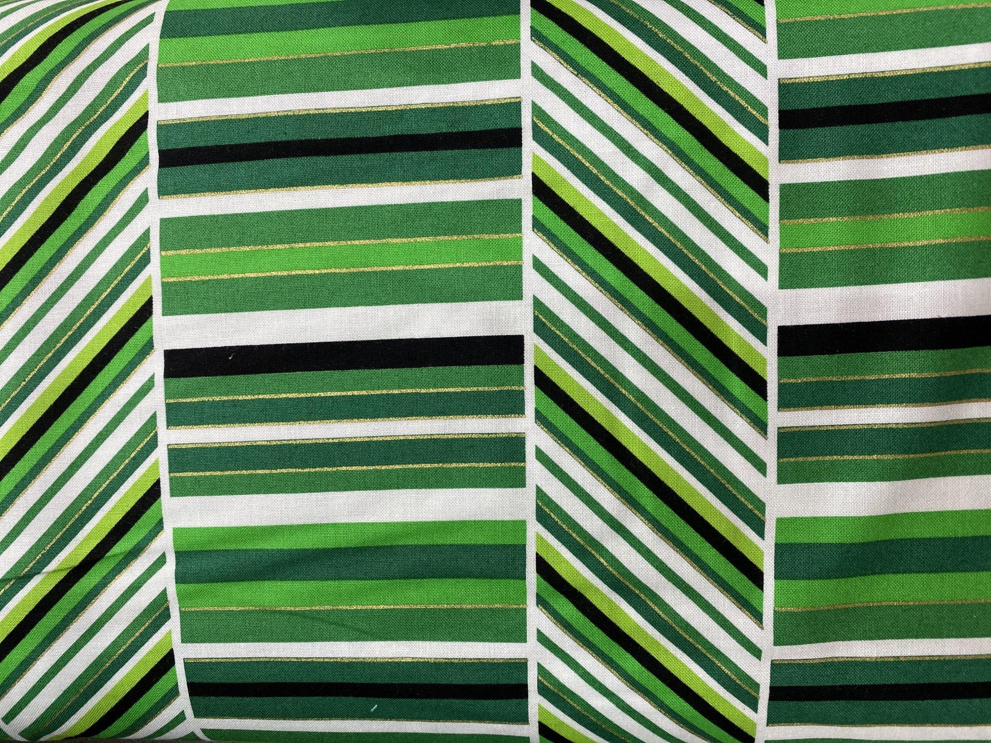 Peppermint stripe green