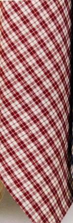 Tea Towel Multipane Red & Cream  - K371-R