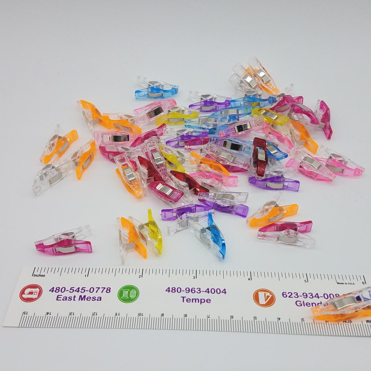 Mulqueen Regular Quilt Clips 50 Pieces - MCLIP2