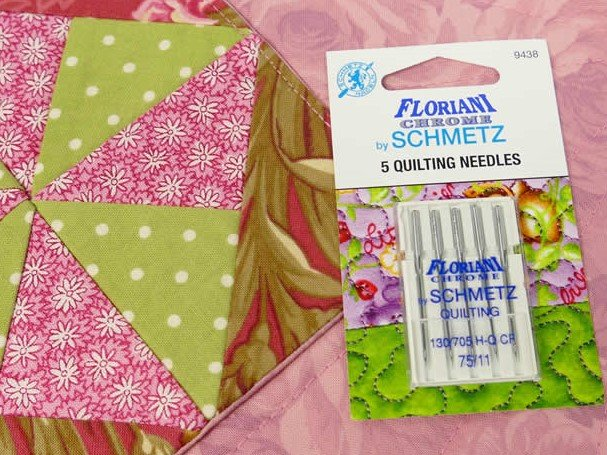 Floriani Chrome by Schmetz Quilting 75/11 Needles - 9438